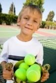 En god begyndelse med tennis